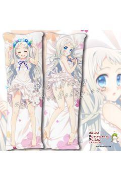 Anohana The Flower We Saw That Day Honma Meiko 3 Anime Dakimakura Japanese Hugging Body Pillow Cover