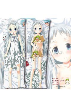 Anohana The Flower We Saw That Day Honma Meiko 5 Anime Dakimakura Japanese Hugging Body Pillow Cover