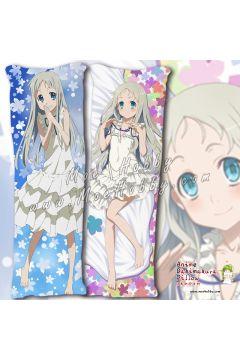 Anohana The Flower We Saw That Day Honma Meiko 6 Anime Dakimakura Japanese Hugging Body Pillow Cover