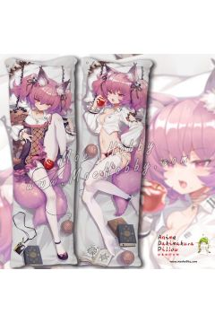 Arknights-SHAMARE Anime Dakimakura Japanese Hugging Body Pillow Cover 20028-1