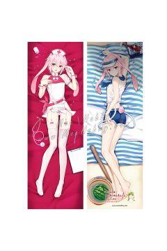 Arknights Ansel Anime Dakimakura Japanese Hugging Body Pillow Cover 001