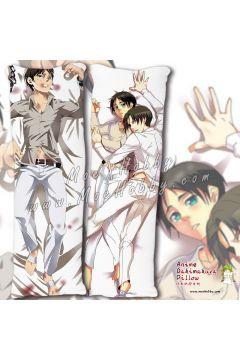 Attack On Titan Eren Jaeger Anime Dakimakura Japanese Hugging Body Pillow Cover Case
