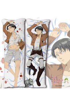 Attack on Titan Levi Ackerman Anime Dakimakura Japanese Hugging Body Pillow Cover 20516