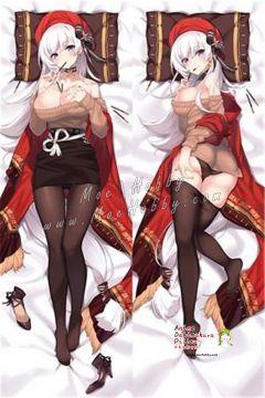 Azur Lane Belfast Anime Dakimakura Japanese Hugging Body Pillow Cover 50
