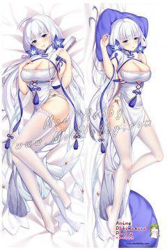 Azur Lane Illustrious Anime Dakimakura Japanese Hugging Body Pillow Cover 5