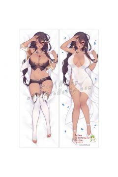 Azur Lane South Dakota Anime Dakimakura Japanese Hugging Body Pillow Cover 222