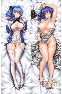 Azur Lane St. Louis Anime Dakimakura Japanese Hugging Body Pillow Cover 001