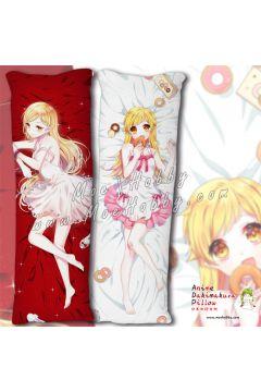 Bakemonogatari Shinobu Oshino Anime Dakimakura Japanese Hugging Body Pillow Cover 21135