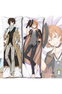Bungo Stray Dogs Anime Dakimakura Japanese Hugging Body Pillow Cover 910045