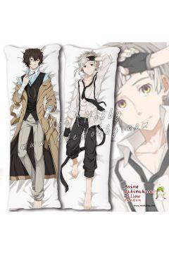 Bungo Stray Dogs Dazai Osamu Nakajima Atsushi 2 Anime Dakimakura Japanese Hugging Body Pillow Cover