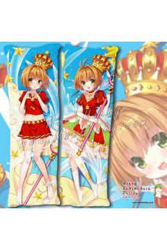 Card Captor Kinomoto Sakura 09 Anime Dakimakura Japanese Hugging Body Pillow Cover