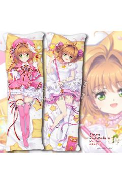 Card Captor Kinomoto Sakura 12 Anime Dakimakura Japanese Hugging Body Pillow Cover
