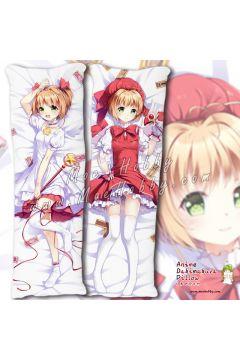 Card Captor Kinomoto Sakura 13 Anime Dakimakura Japanese Hugging Body Pillow Cover