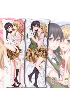 citrus Anime Dakimakura Japanese Hugging Body Pillow Cover 93057