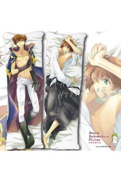 Code Geass Kururugi Suzaku Anime Dakimakura Japanese Hugging Body Pillow Cover Case
