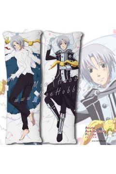 D.Gray man Allen Walker Anime Dakimakura Japanese Hugging Body Pillow Cover 20648