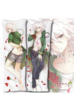Danganronpa Trigger Happy Havoc Komaeda Nagito 3 Anime Dakimakura Japanese Hugging Body Pillow Cover