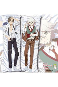Danganronpa Trigger Happy Havoc Naegi Makoto Komaeda Nagito 1 Anime Dakimakura Japanese Hugging Body Pillow Cover
