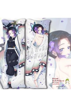 Demon Slayer Kochou Shinobu Anime Dakimakura Japanese Hugging Body Pillow Cover 19066-2