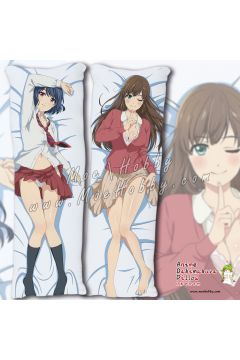 Domestic Girlfriend Anime Dakimakura Japanese Hugging Body Pillow Cover 98024