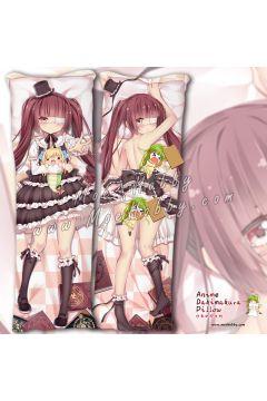 Dropkick On My Devil! Yurine Hanazono 2 Anime Dakimakura Japanese Hugging Body Pillow Cover