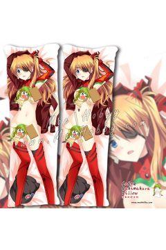 Eva Asuka Langley Soryu Anime Dakimakura Japanese Hugging Body Pillow Cover Case 02