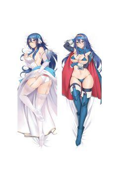 Fire Emblem Lucina Anime Dakimakura Body Pillow Cover 21717