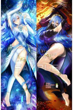 Fire Emblem Fates Azura Anime Dakimakura Japanese Hugging Body Pillow Cover