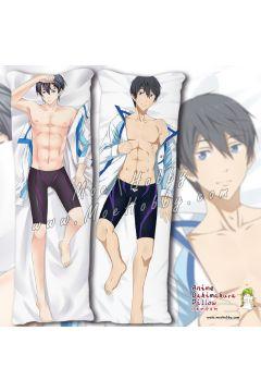 Free! Nanase Haruka Anime Dakimakura Japanese Hugging Body Pillow Cover Case 04