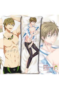 Free! Tachibana Makoto Anime Dakimakura Japanese Hugging Body Pillow Cover Case 03