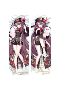 Genshin Impact Hutao Anime Dakimakura Body Pillow Cover 21542