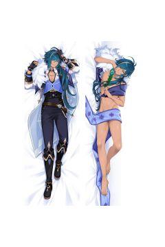 Genshin Impact Kaeya Anime Dakimakura Body Pillow Cover 21036-2