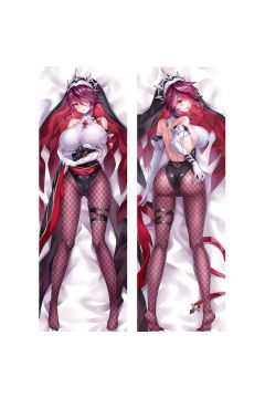 Genshin Impact Rosaria Anime Dakimakura Body Pillow Cover 21611