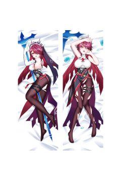 Genshin Impact Rosaria Anime Dakimakura Body Pillow Cover 21631
