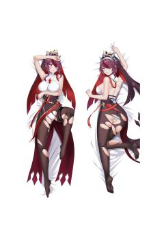 Genshin Impact Rosaria Anime Dakimakura Body Pillow Cover 21708