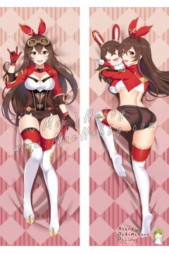 Genshin Impact Amber Anime Dakimakura Japanese Hugging Body Pillow Cover 11