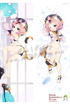 Genshin Impact Diona Anime Dakimakura Japanese Hugging Body Pillow Cover 11