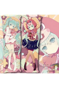Hatsune Miku Anime Dakimakura Japanese Hugging Body Pillow Cover Case 1942320-1