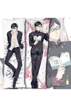 Haven't You Heard I'm Sakamoto Sakamoto 1 Anime Dakimakura Japanese Hugging Body Pillow Cover