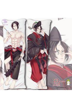 Hozuki's Coolheadedness Hozuki Anime Dakimakura Japanese Hugging Body Pillow Cover Case