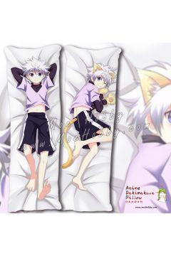 Hunter x Hunter Killua Zoldyck Anime Dakimakura Japanese Hugging Body Pillow Cover Case 1981037-1