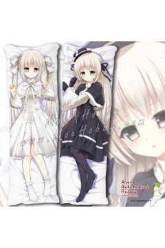 In Solitude, Where We Are Least Alone Kasugano Sora 24 Anime Dakimakura Japanese Hugging Body Pillow Cover