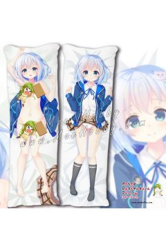 Is the Order a Rabbit Anime Dakimakura Japanese Hugging Body Pillow Cover 99049