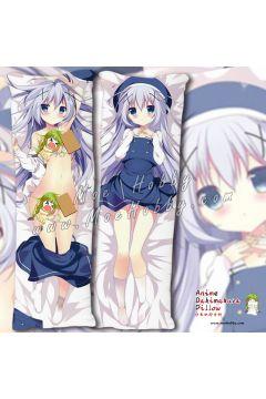 Is The Order A Rabbit Kafuu Chino 02 Anime Dakimakura Japanese Hugging Body Pillow Cover