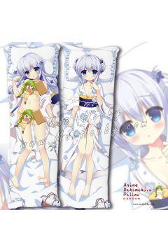 Is The Order A Rabbit Kafuu Chino 04 Anime Dakimakura Japanese Hugging Body Pillow Cover