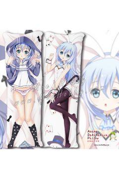 Is The Order A Rabbit Kafuu Chino 06 Anime Dakimakura Japanese Hugging Body Pillow Cover