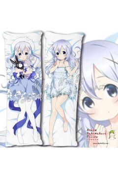Is The Order A Rabbit Kafuu Chino 08 Anime Dakimakura Japanese Hugging Body Pillow Cover