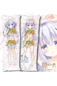 Is The Order A Rabbit Kafuu Chino 12 Anime Dakimakura Japanese Hugging Body Pillow Cover