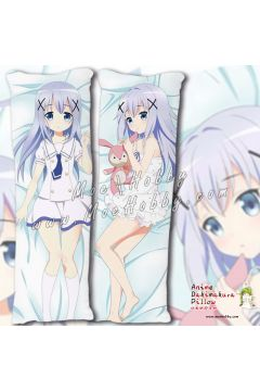 Is The Order A Rabbit Kafuu Chino 13 Anime Dakimakura Japanese Hugging Body Pillow Cover