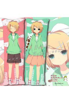 Kagamine RinAndlen Kagamine Rin Anime Dakimakura Japanese Hugging Body Pillow Cover Case 04